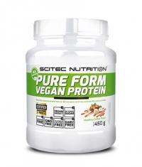 SCITEC Pure Form Vegan Protein/ 15 Serv.