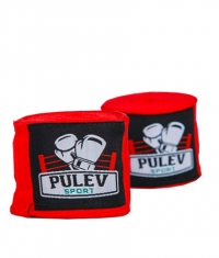 PULEV SPORT Hand Wraps / Red