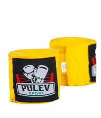 PULEV SPORT Hand Wraps / Yellow
