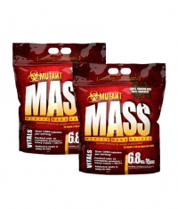 PROMO STACK Mutant Mass 15 Lbs. / x2