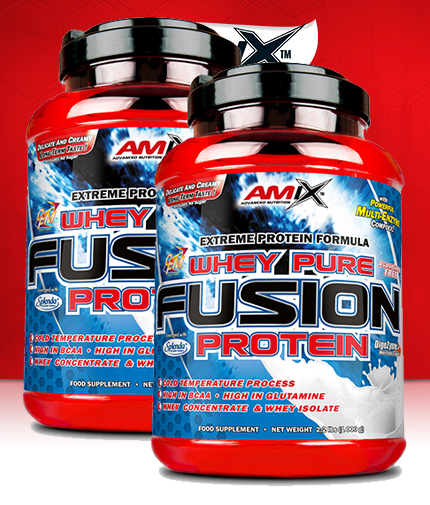 promo-stack Amix Whey Pure Fusion 2.2 Lbs. / x2