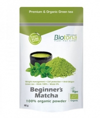 BIOTONA Beginner's Matcha 100% Organic Powder