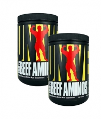 PROMO STACK Universal 100% Beef Aminos 200 Tabs. / x2