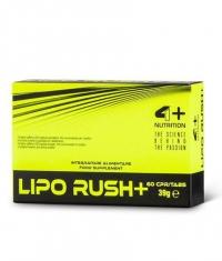 4+ NUTRITION LIPO RUSH+ / 60 Caps.