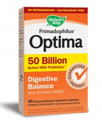NATURES WAY Primadophilus Optima Digestive Balance / 30 Vcaps.