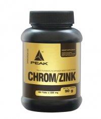 PEAK Chrom / Zinc (Chrom - Zinc - Selen) 280 Tabs.