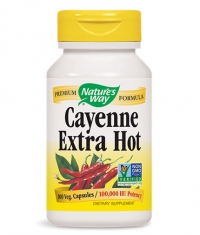 NATURES WAY Cayenne Extra Hot / 100 Vcaps.