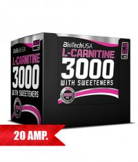 BIOTECH USA L-Carnitine 3000 / 20 Fiole