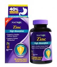 NATROL Zinc - High Absorption / 60 Tabs.