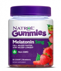 NATROL Gummies Melatonin 5mg. / 90 Gummies
