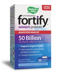 NATURES WAY Primadophilus® Fortify™ Women's 50 Billion Probiotic / 30 Vcaps.