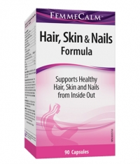 WEBBER NATURALS FemmeCalm™ Hair, Skin & Nails Formula / 90Caps.