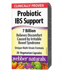 WEBBER NATURALS Probiotic IBS Support 7 Billion / 30Vcaps.