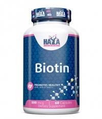 HAYA LABS Biotin 500mcg. / 60 Vcaps.