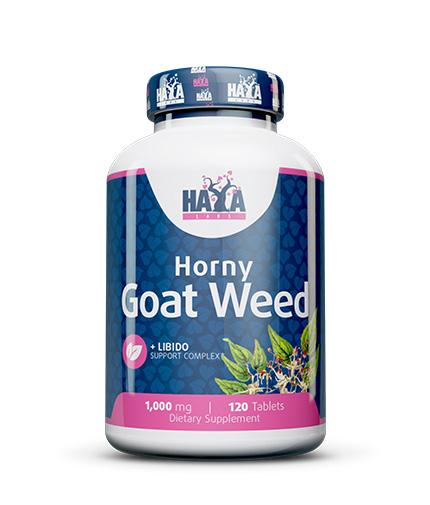 haya-labs Horny Goat Weed 1,000mg. / 120 tabs.
