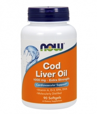 NOW Cod Liver Oil 1000mg / 90Softgels.
