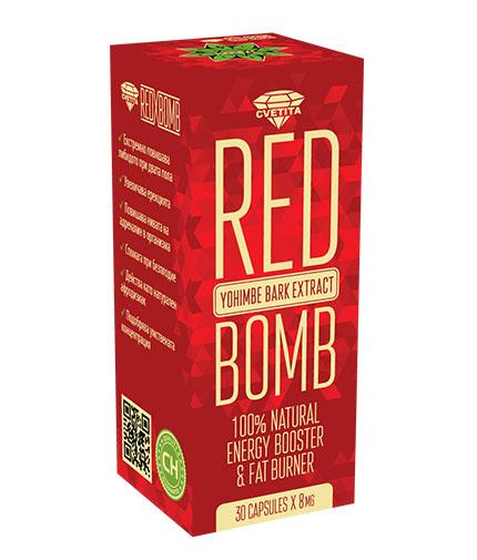 cvetita-herbal Red X Bomb / 30 Caps.