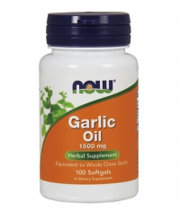 NOW Garlic Oil 1500mg / 100Softgels.
