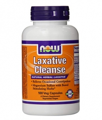 NOW Laxative Cleanse / 100Vcaps.