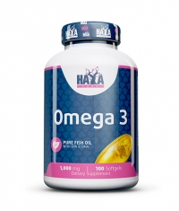 HAYA LABS Omega 3 1000mg. / 100 Softgels