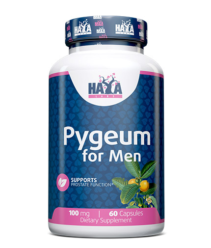 haya-labs Pygeum for Men 100mg. / 60 Softgels