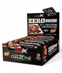 AMIX ZeroHero Protein Bar / 15x65g.