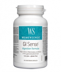 NATURAL FACTORS WomenSense GI Sense 616mg. / 90 Vcaps.