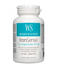 NATURAL FACTORS WomenSense IronSense 668mg. / 60 Vcaps.