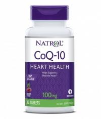 NATROL Co-Q10 Fast Dissolve 100mg. / 30 Tabs.