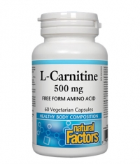 NATURAL FACTORS L-Carnitine 500mg. / 60 Vcaps.