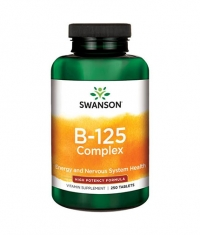 SWANSON Vitamin B-125 Complex - High Potency / 250 Tabs.