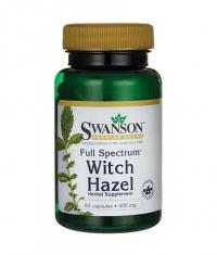 SWANSON Full Spectrum Witch Hazel 400mg. / 60 Caps