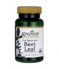 SWANSON Full Spectrum Beet Leaf 400mg. / 60 Caps