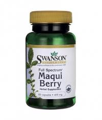 SWANSON Full Spectrum Maqui Berry 400mg. / 60 Caps