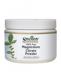 SWANSON Magnesium Citrate Powder 100% Pure