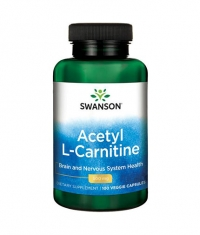 SWANSON Acetyl L-Carnitine 500mg. / 100 Vcaps