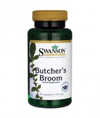 SWANSON Butcher's Broom 470mg. / 100 Caps