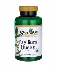 SWANSON Psyllium Husks 610mg. / 100 Caps