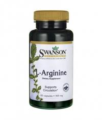 SWANSON L-Arginine 500mg. / 100 Caps