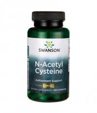 SWANSON N-Acetyl Cysteine 600mg. / 100 Caps