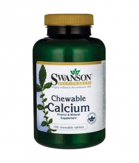 SWANSON Chewable Calcium 500mg. / 100 Chew