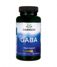 SWANSON GABA 500mg. / 100 Caps