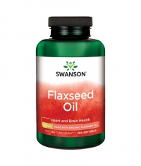 SWANSON Flaxseed Oil Made with Organic Flaxseed Oil 1g. / 200 Soft