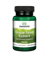 SWANSON Grape Seed Extract 200mg. / 60 Caps