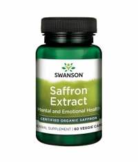 SWANSON Saffron Extract - Certified Organic Saffron 30mg. / 60 Vcaps