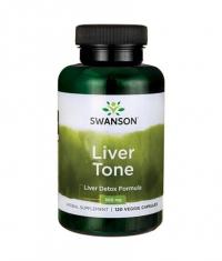 SWANSON Liver Tone Liver Detox Formula 300mg. / 120 Vcaps