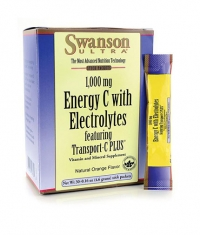 SWANSON 1,000 mg Energy C with Electrolytes / 30 Effer