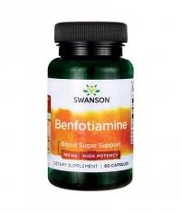 SWANSON Benfotiamine - High Potency 160mg. / 60 Caps