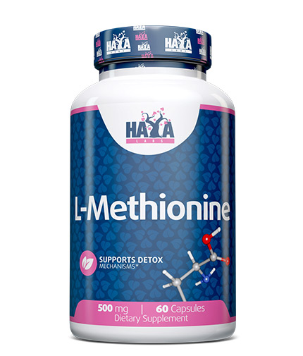 haya-labs L-Methionine 500mg  / 60 Caps.