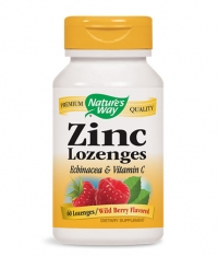 NATURES WAY Zinc Lozenges / 60 Loz.